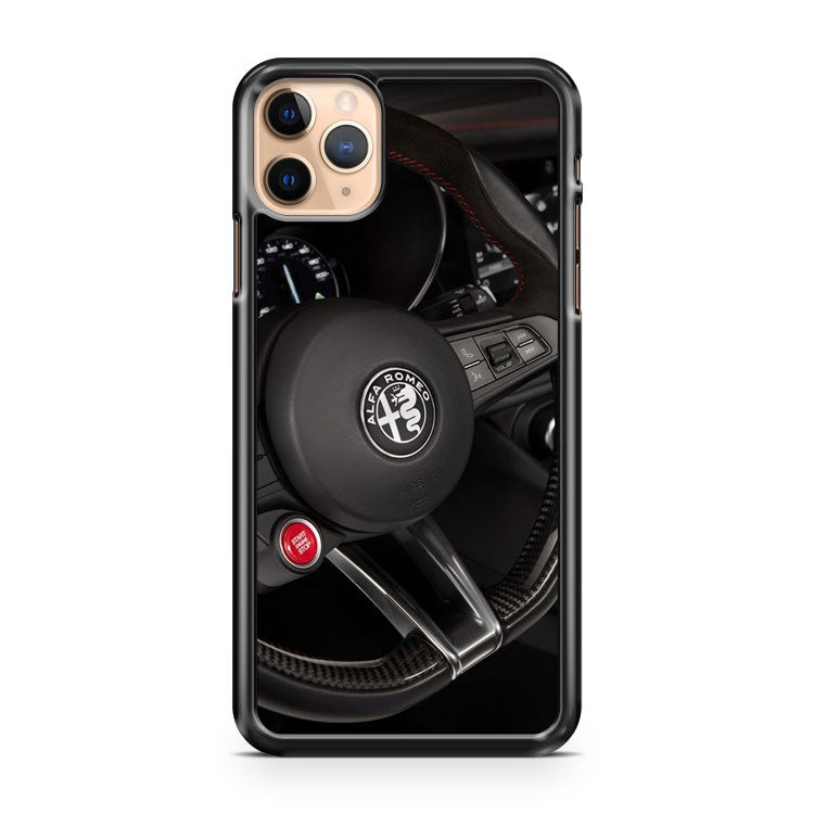 Alfa Romeo Steering Wheel iPhone 11 Pro Max Case Cover | CaseSupplyUSA