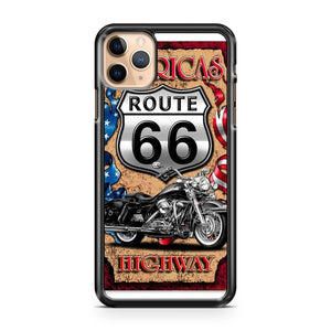 Americas Highway Route 66 iPhone 11 Pro Max Case Cover | CaseSupplyUSA