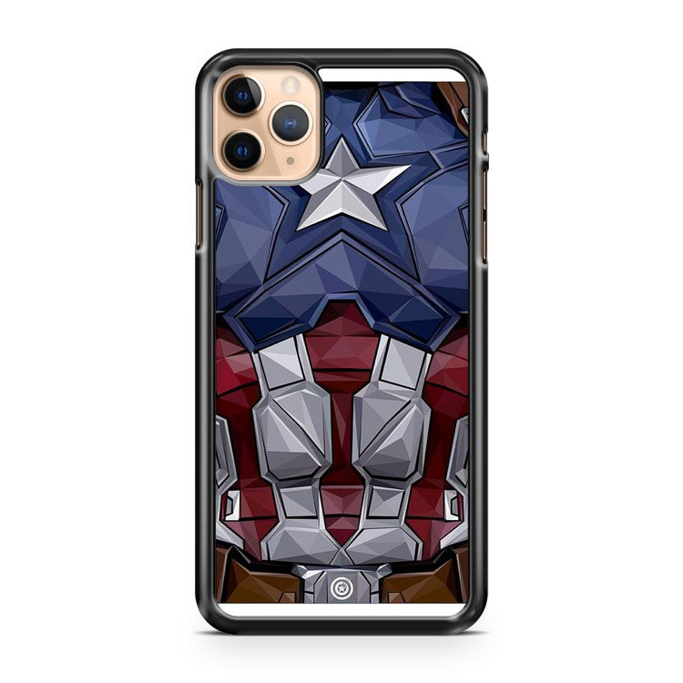 Captain America Armor iPhone 11 Pro Max Case Cover | CaseSupplyUSA