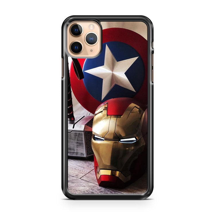 Captain America Iron Man iPhone 11 Pro Max Case Cover | CaseSupplyUSA