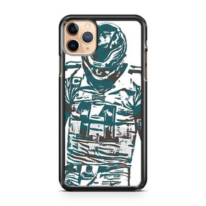 Carson Wentz Philadelphia Eagles 3 iPhone 11 Pro Max Case Cover | CaseSupplyUSA