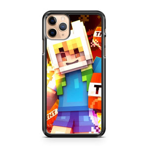 Minecraft Adventure Time iPhone 11 Pro Max Case Cover