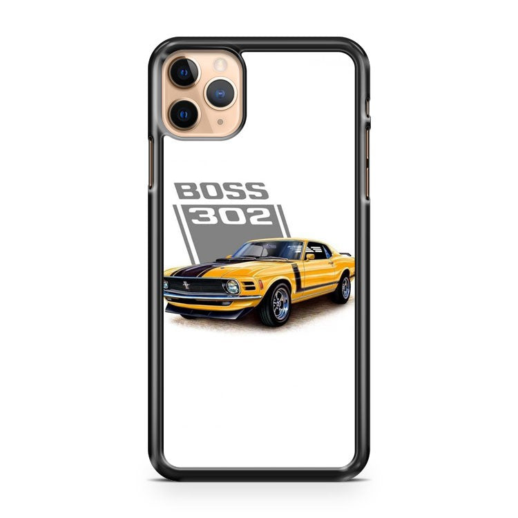 Mustang Boss 302 design 2 iPhone 11 Pro Max Case Cover