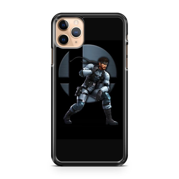 Solid Snake SSB Super Smash Brothers iPhone 11 Pro Max Case Cover