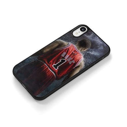 Chicago Bulls Derrick Rose iPhone XR Case Cover | CaseSupplyUSA