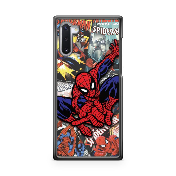 Anymode Marvel Comics Spiderman 4 Samsung Galaxy Note 10 Case Cover | CaseSupplyUSA