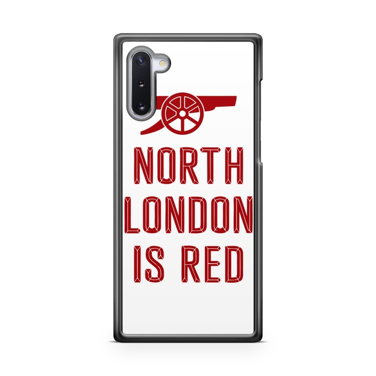 Arsenal North London is Red 2 Samsung Galaxy Note 10 Case Cover | CaseSupplyUSA