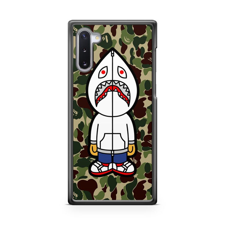 bape camo shark white hoodie 2 Samsung Galaxy Note 10 Case Cover | CaseSupplyUSA