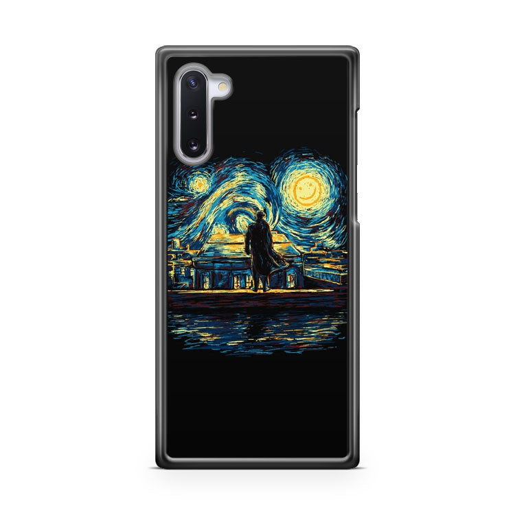 Art Starry Fall Sherlock Samsung Galaxy Note 10 Case Cover | CaseSupplyUSA