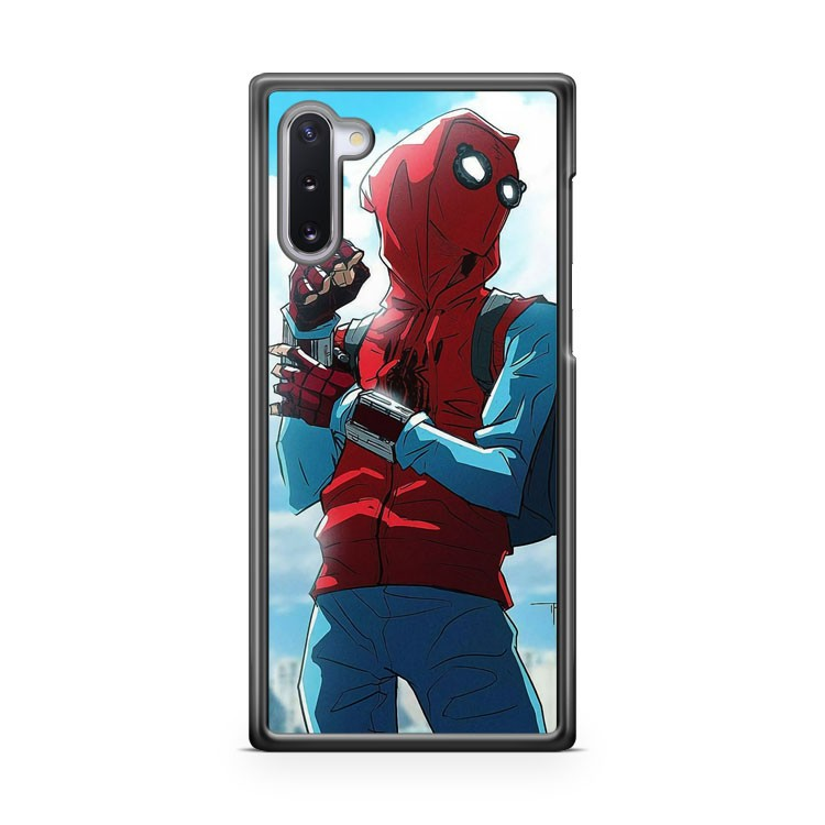 Awesome Spider Man Homecoming fanart Samsung Galaxy Note 10 Case Cover | CaseSupplyUSA