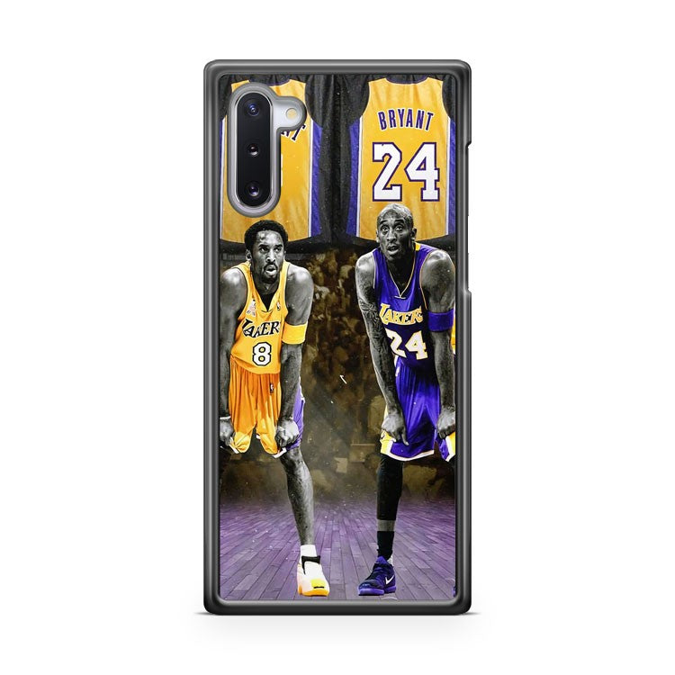 kobe bryant kobe kb824 los angeles lakers Samsung Galaxy Note 10 Case Cover