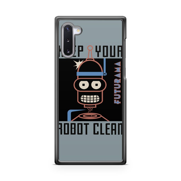 bender poster futurama Samsung Galaxy Note 10 Case Cover | CaseSupplyUSA