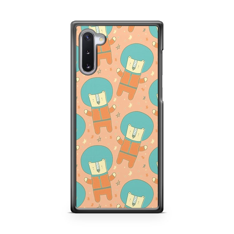 Bearly There in Dreamsickle Samsung Galaxy Note 10 Case Cover | CaseSupplyUSA