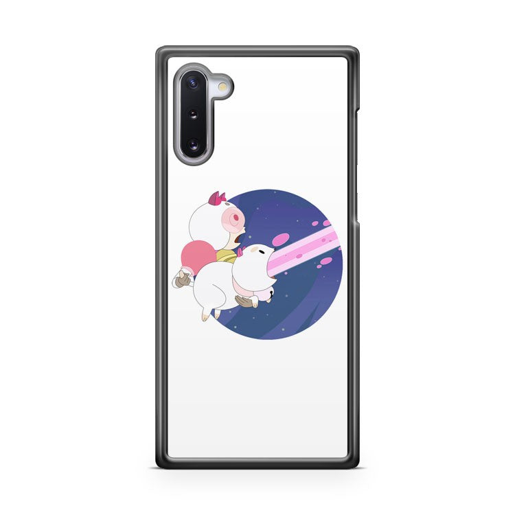bee and puppy cat laser Samsung Galaxy Note 10 Case Cover | CaseSupplyUSA