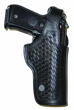SP100H Duty Holster (Glock, S&W and many other duty gun models) High Ride