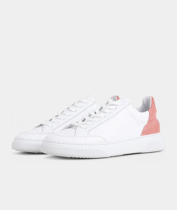 Off Court - White / Baby Pink