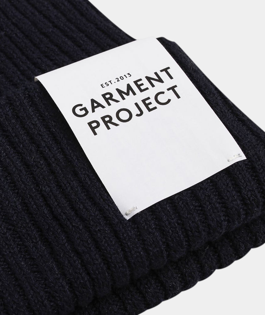 GARMENT PROJECT MAN Beanie / Black Beanie 999 Black