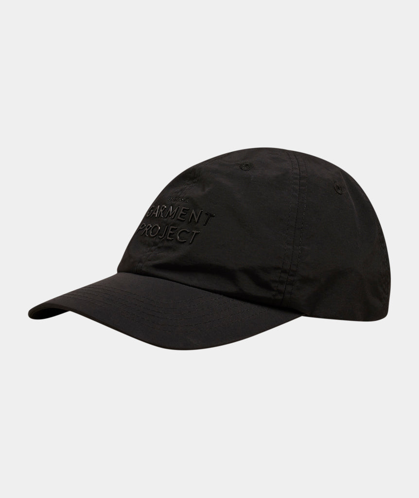 GARMENT PROJECT MAN Logo Cap / Black Cap