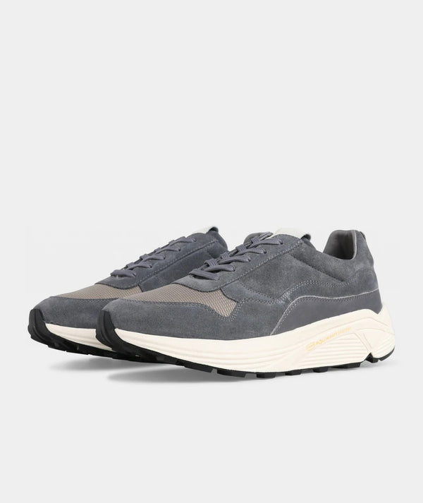Bailey Runner - Brain Suede / Off White