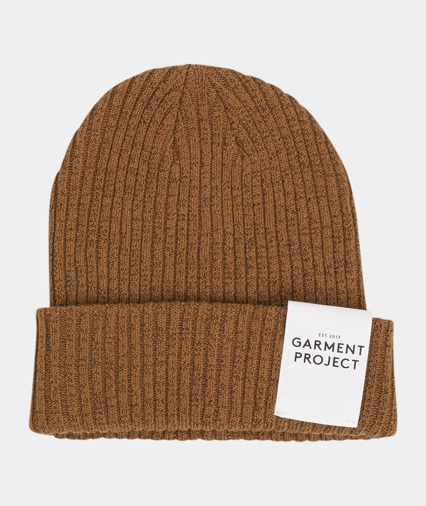 GARMENT PROJECT MAN Beanie / Taupe Beanie 140 Taupe