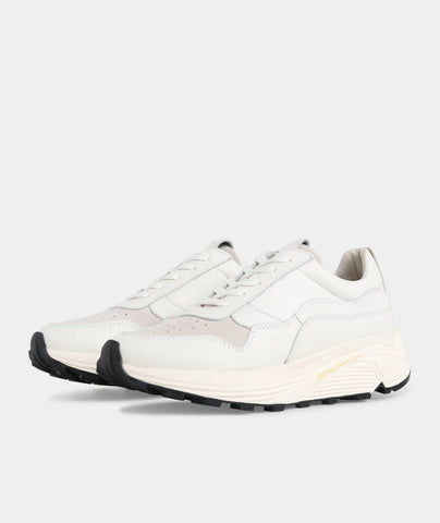 Bailey Runner - White Leather