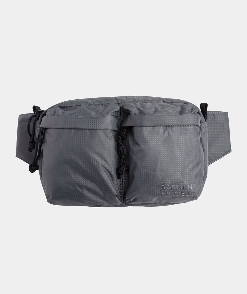 GARMENT PROJECT MAN GP Hip Bag - Grey Bags 400 Grey