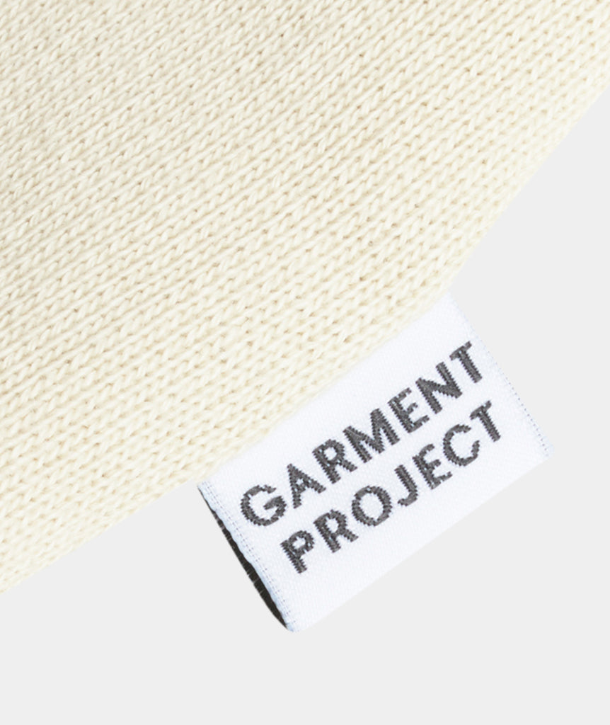 GARMENT PROJECT MAN Hooded Sweat - Bone White Hooded Sweat 111 Bone White