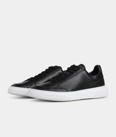 Off Court - Black Leather