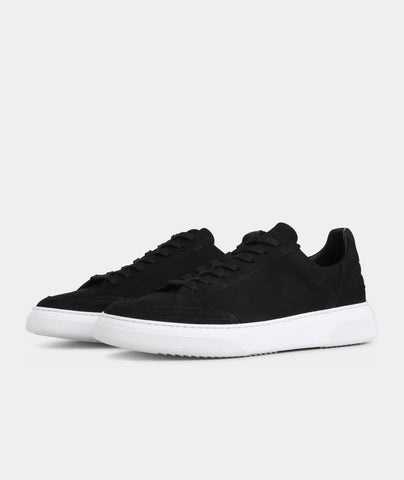 Off Court - Black Nubuck