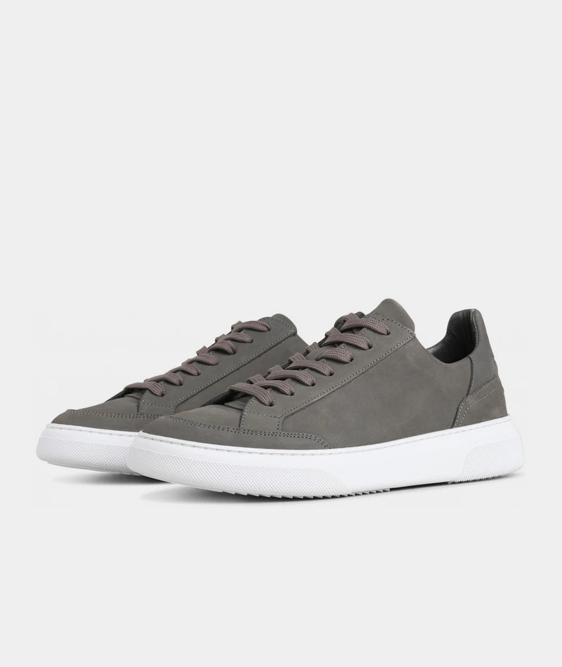 Off Court - Grey Nubuck
