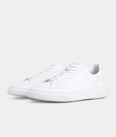 Off Court - White Leather
