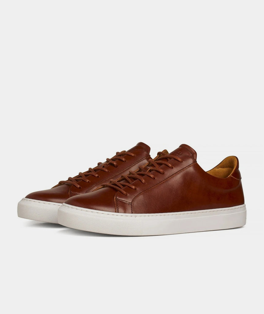 GARMENT PROJECT MAN Type Lux - Cognac Leather Shoes 650 Cognac