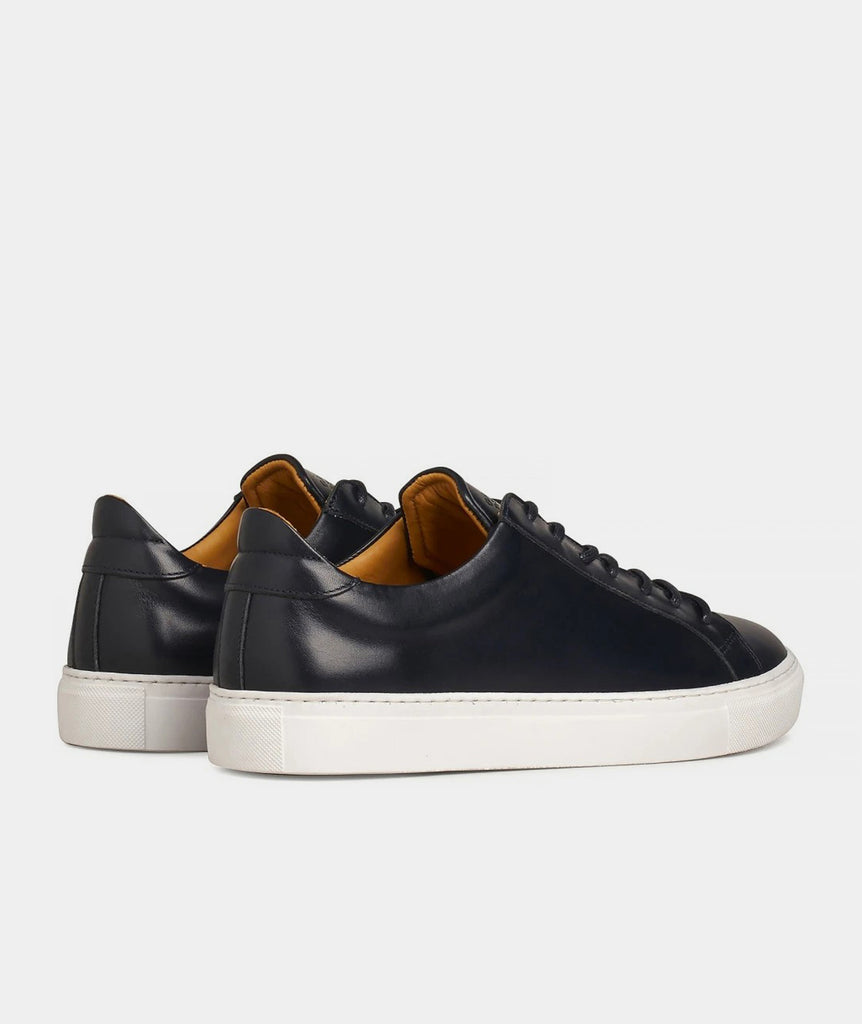 GARMENT PROJECT MAN Type Lux - Navy Leather Shoes 500 Navy