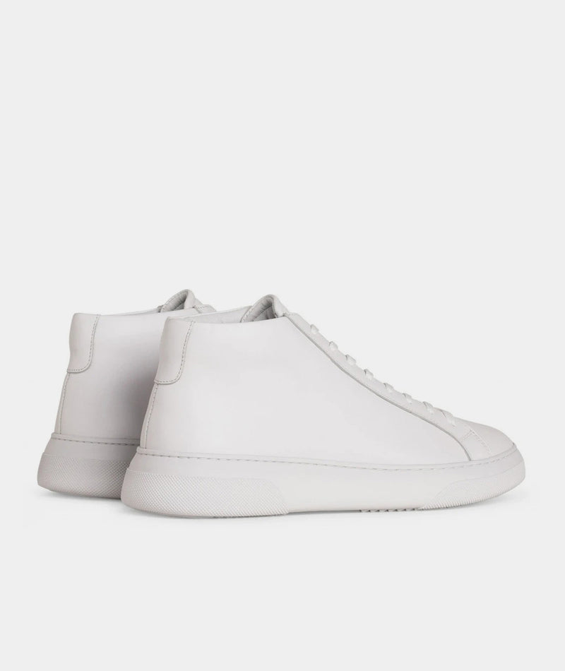 Type Mid - White Leather