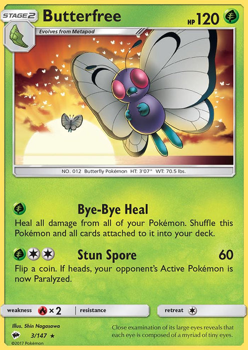 Butterfree - 3/147