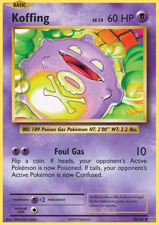 Koffing - 50/108 - Reverse Holo