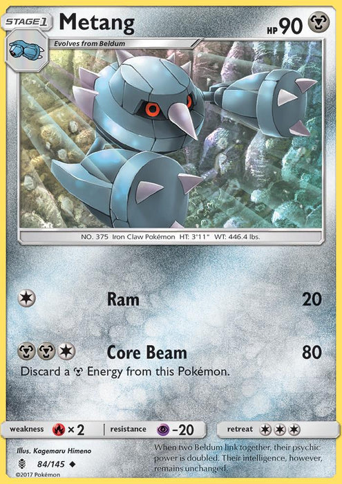 Guardians Rising Metang - 84/145 - Reverse Holo