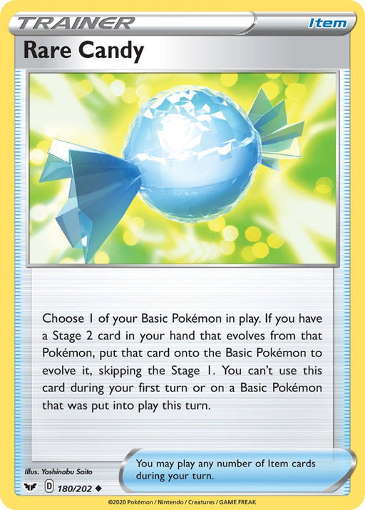 Sword & Shield Rare Candy - 180/202 - Reverse Holo