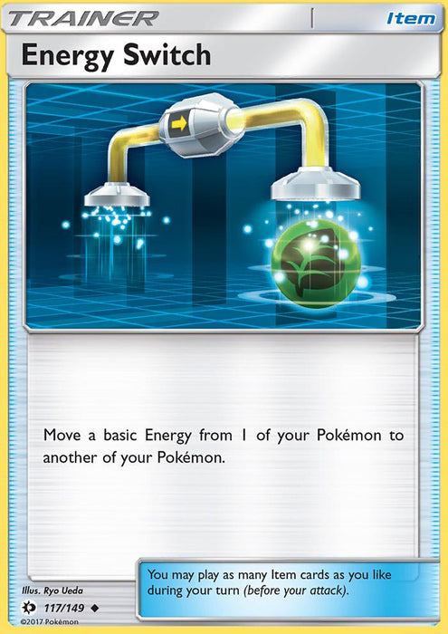 Sun & Moon Energy Switch - 117/149 - Reverse Holo