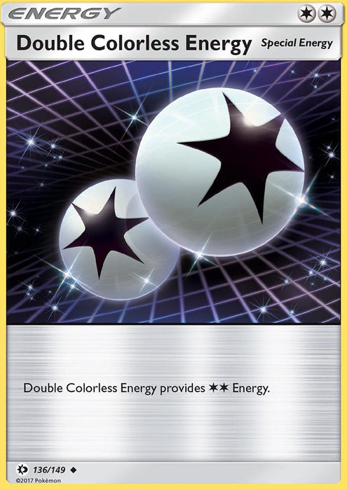 Sun & Moon Double Colorless Energy - 136/149 - Reverse Holo