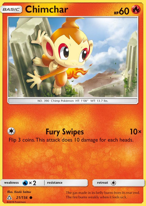 Chimchar - 21/156 - Reverse Holo