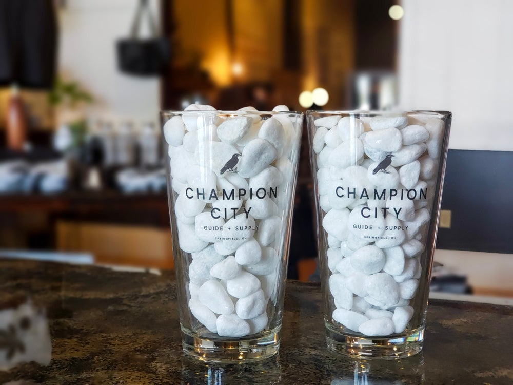 Champion City Pint Glass