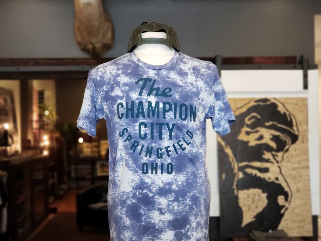 The Champion City [navy tie-dye]
