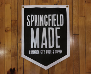 Springfield Made Camp Flag