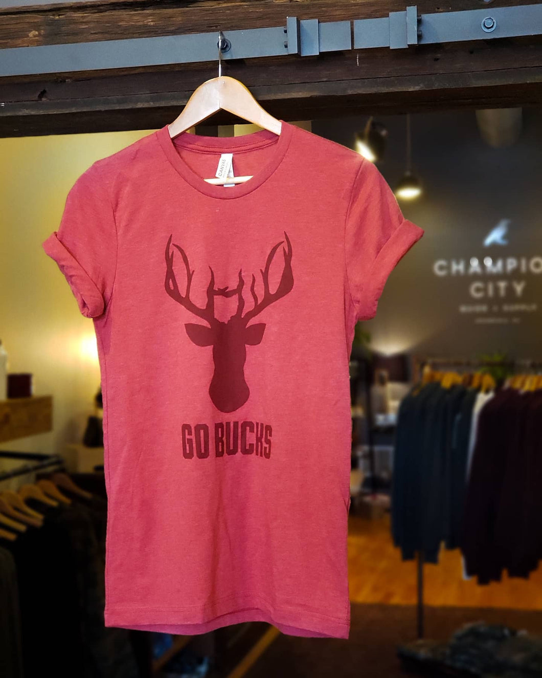 Deer Ohio - Go Bucks version