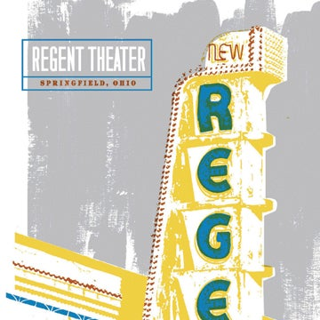 Regent Theater Sign Screen Print