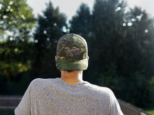Camo Snapback : Champion City Script (New Edition)