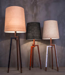 Ben Floor Lamp, Beige Lampshade