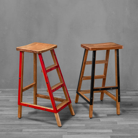 Kopenhagen Bar Stool With Ladder