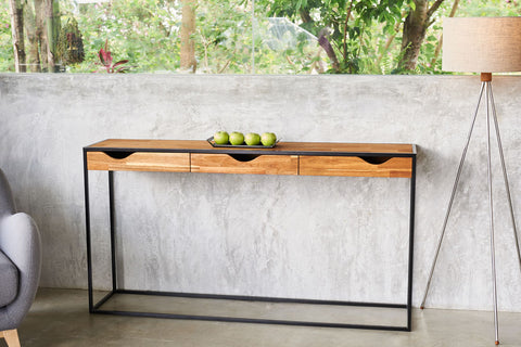 Kopenhagen Loft Entrance Console With Drawers